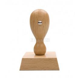 Razítko dřevěné, otisk 70x50 mm