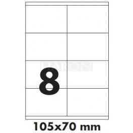 Tisk samolepících etiket 105 x 70 mm