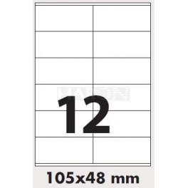 Tisk samolepících etiket 105 x 48 mm