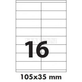 Tisk samolepících etiket 105 x 35 mm
