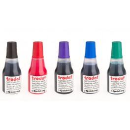 razítková barva v lahvičce, barvy ze vzorníku
