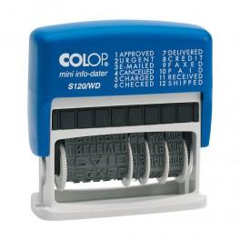Razítko Mini Dater S 120/WD-CZ (texty + datum)