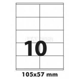 Tisk samolepících etiket 105 x 57 mm