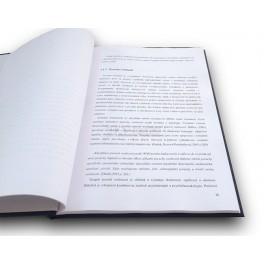 Tisk diplomové - bakalářské - závěrečné práce
