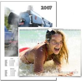 Závěsný kalendář 13 listů formát: A4, A3 nebo SRA3